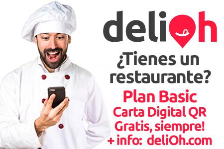 #Nombre#, si tienes un restaurante, haz con nosotros tu carta digital según la normativa mediante código QR, sin pagos, siemopre gratis. Haz click oara más info.